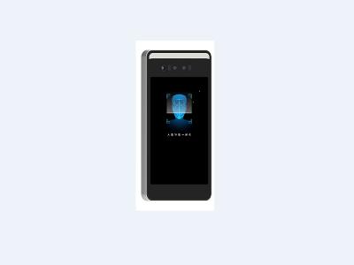 深数科技闸机式人脸识别门禁考勤一体机DM-face-S70C(7寸)